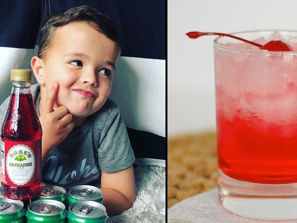 Keren! Bocah 6 Tahun Ini Jadi Kritikus Minuman Shirley Temple