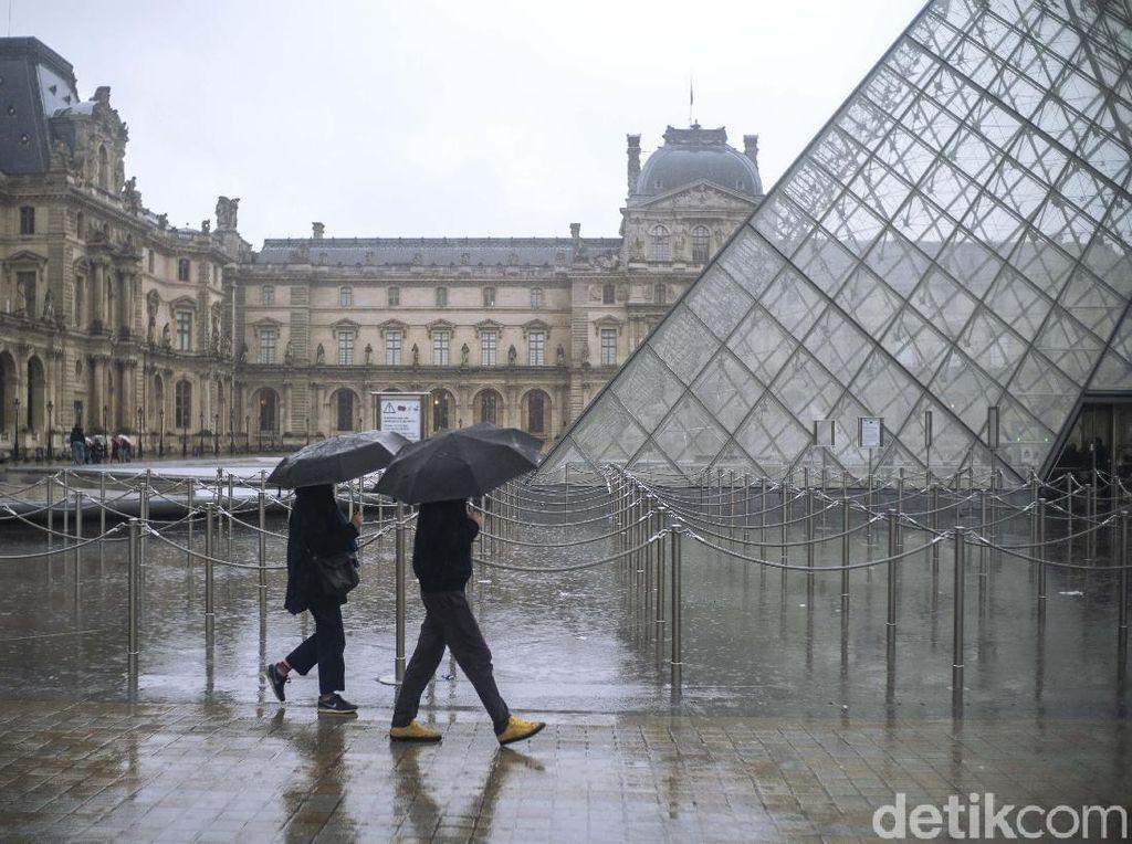 Sempat Ditutup karena Corona, Museum Louvre Paris Dibuka Kembali 6 Juli