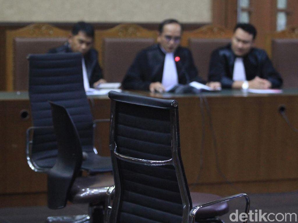 Terdakwa Korupsi Rp 37,8 T Buron, Kursi Kosong Jadi Pengganti