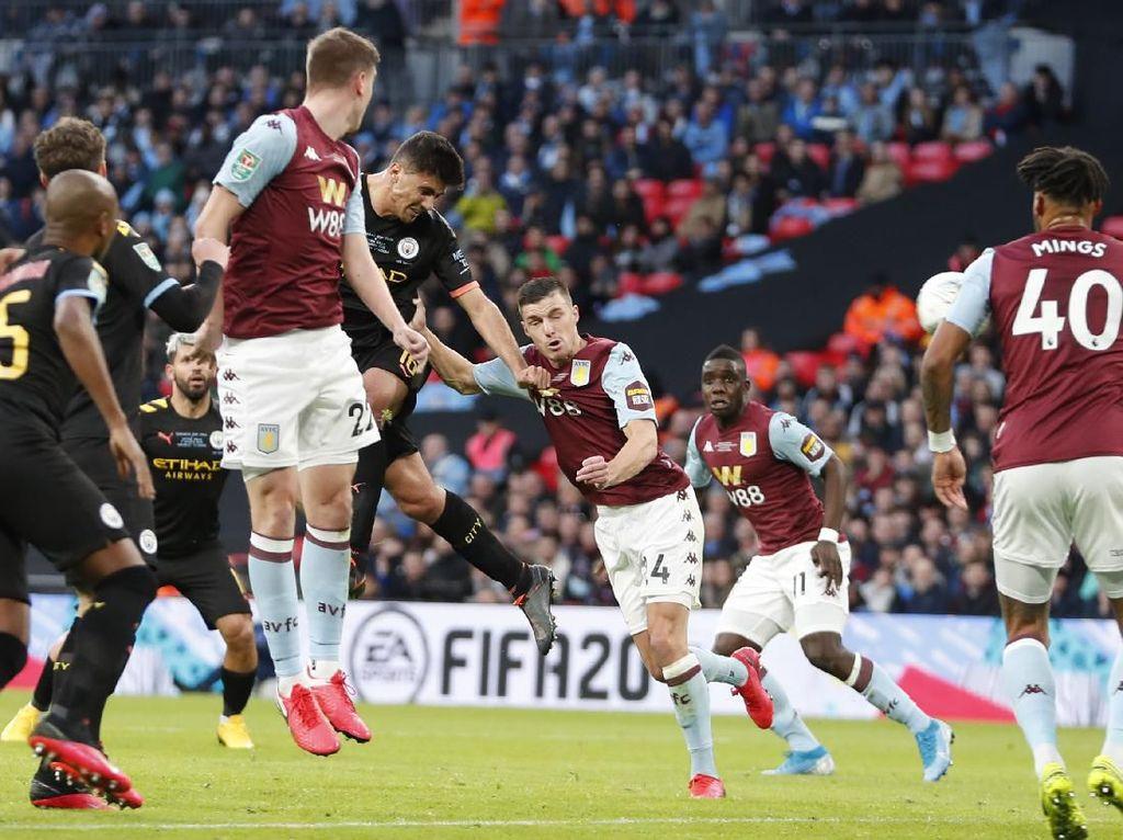 10 Data-Fakta Man City Vs Aston Villa