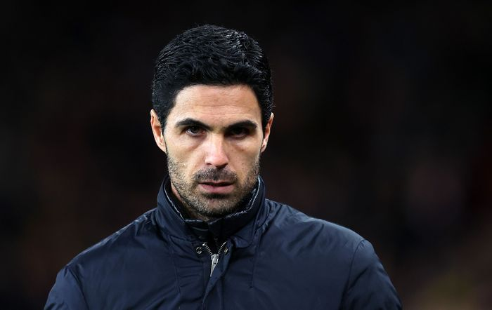 LONDON, ENGLAND - FEBRUARY 27: Arsenal Manager, Mikel Arteta looks on prior to the UEFA Europa League round of 32 second leg match between Arsenal FC and Olympiacos FC at Emirates Stadium on February 27, 2020 in London, United Kingdom. (Photo by Julian Finney/Getty Images)