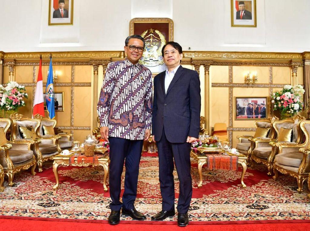 Gubernur Sulsel Tawarkan Presiden ADB untuk Investasi Rusun di Makassar
