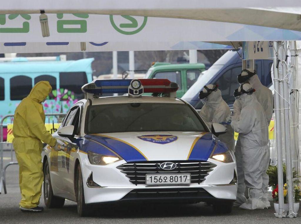 Deteksi Virus Corona, Korea Sampai Buka Layanan Drive-Thru
