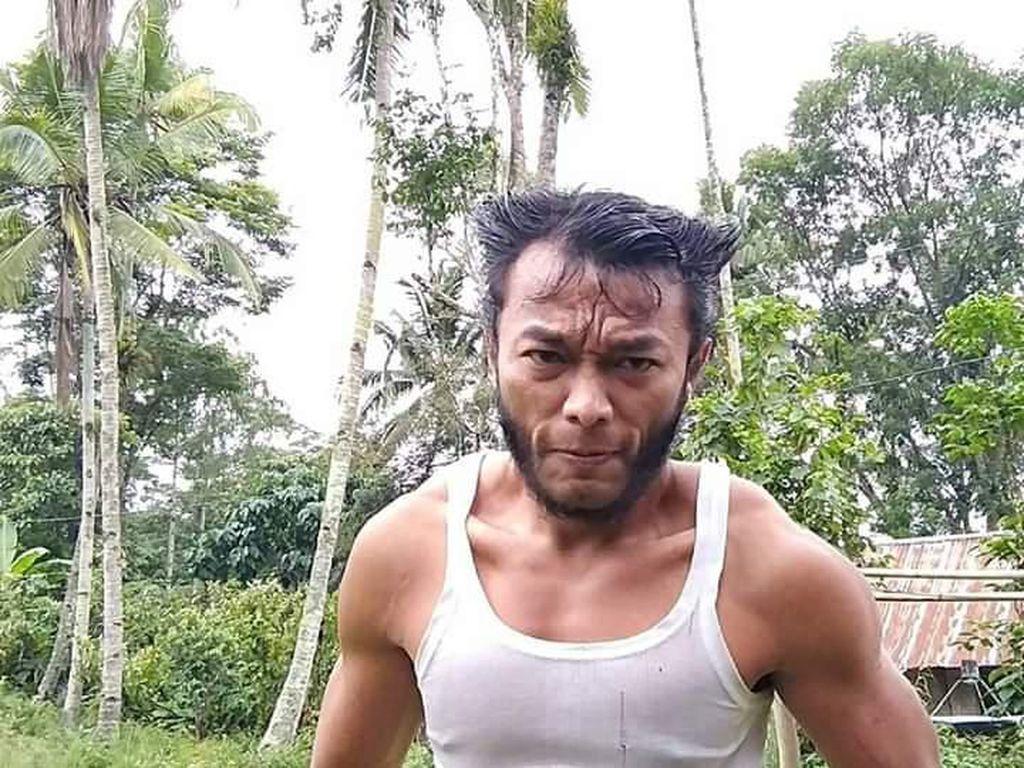 Kisah Wolverine Toraja Mau Tiru The Rock Malah Pakai Obat Brewok
