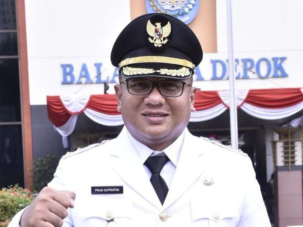 Wakil Wali Kota Depok Doakan Kesembuhan 2 Warga Positif Corona