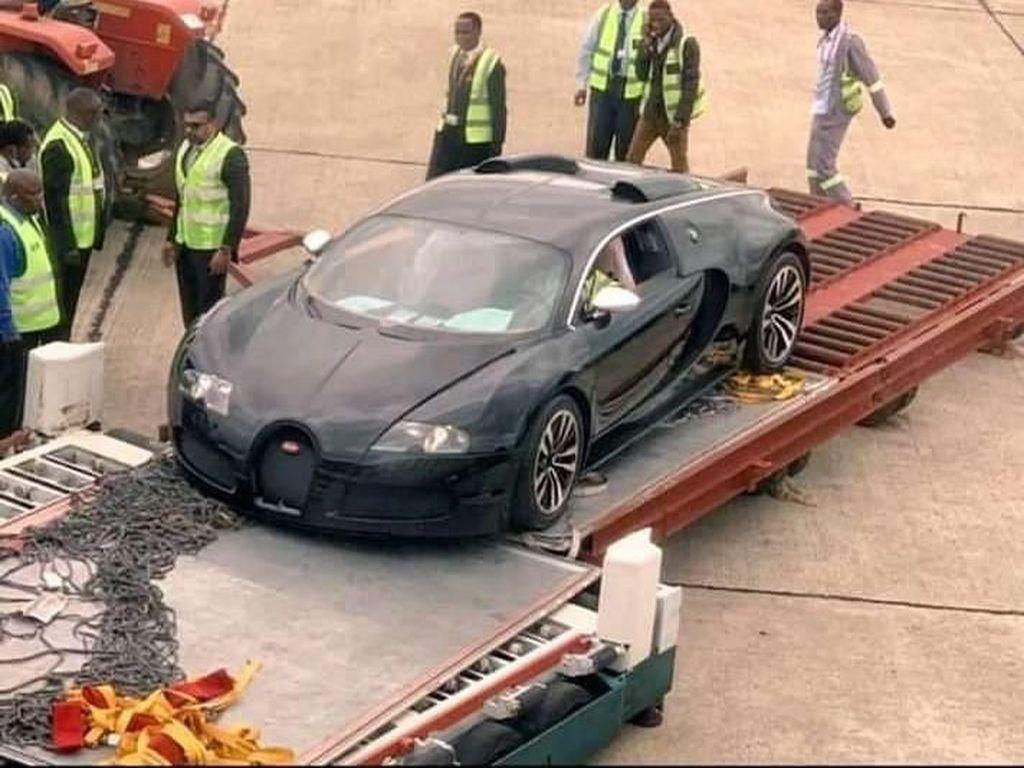 Diduga Hasil Cuci Uang, Bugatti Ini Disita