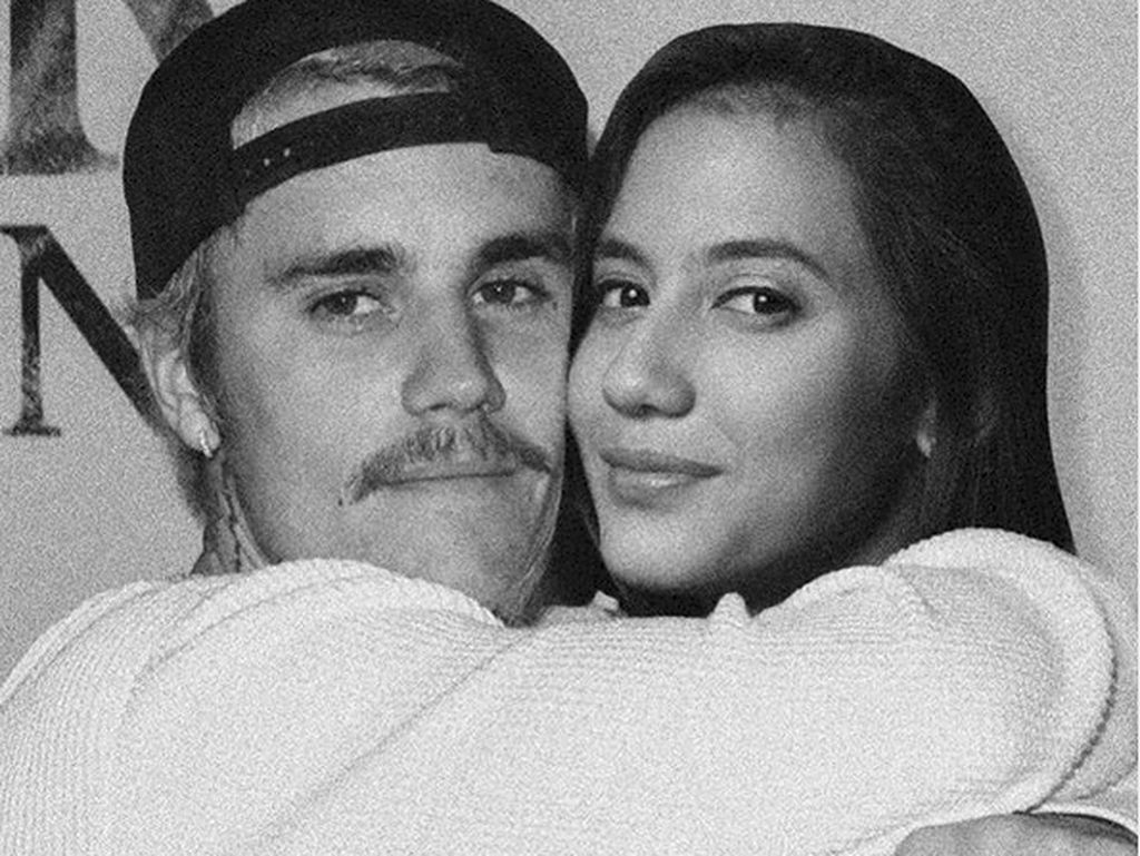 Nggak Usah Iri! Pevita Pearce Dipeluk Justin Bieber