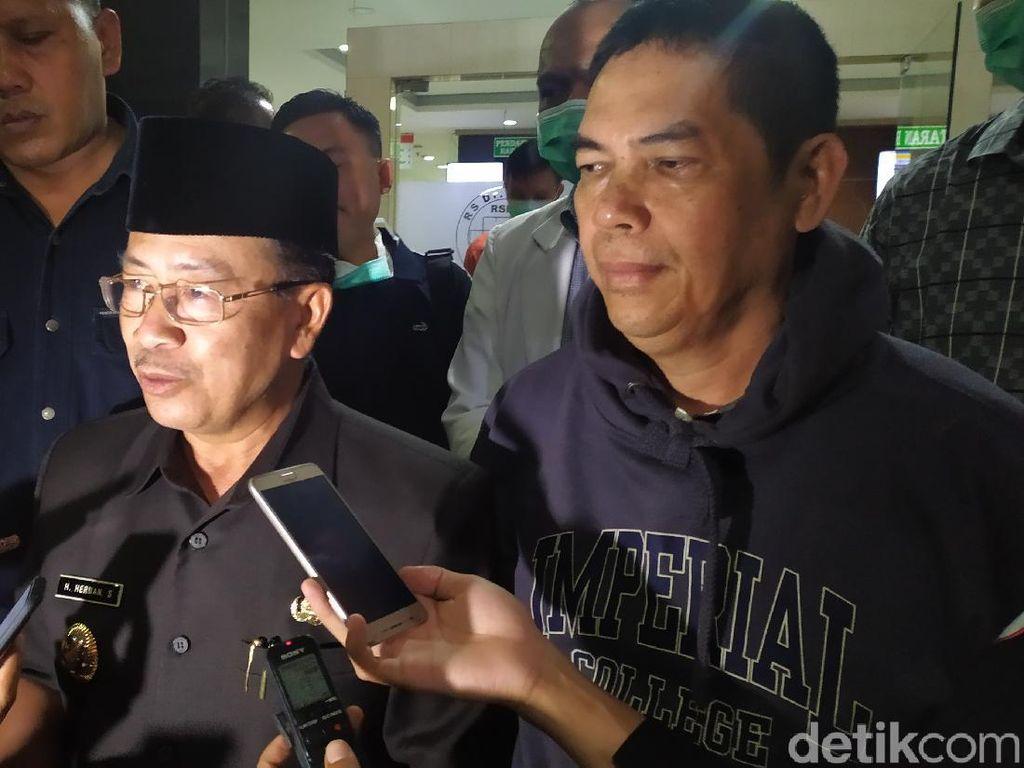 Pasien Suspect Corona di Cianjur Dirujuk ke RSHS Bandung