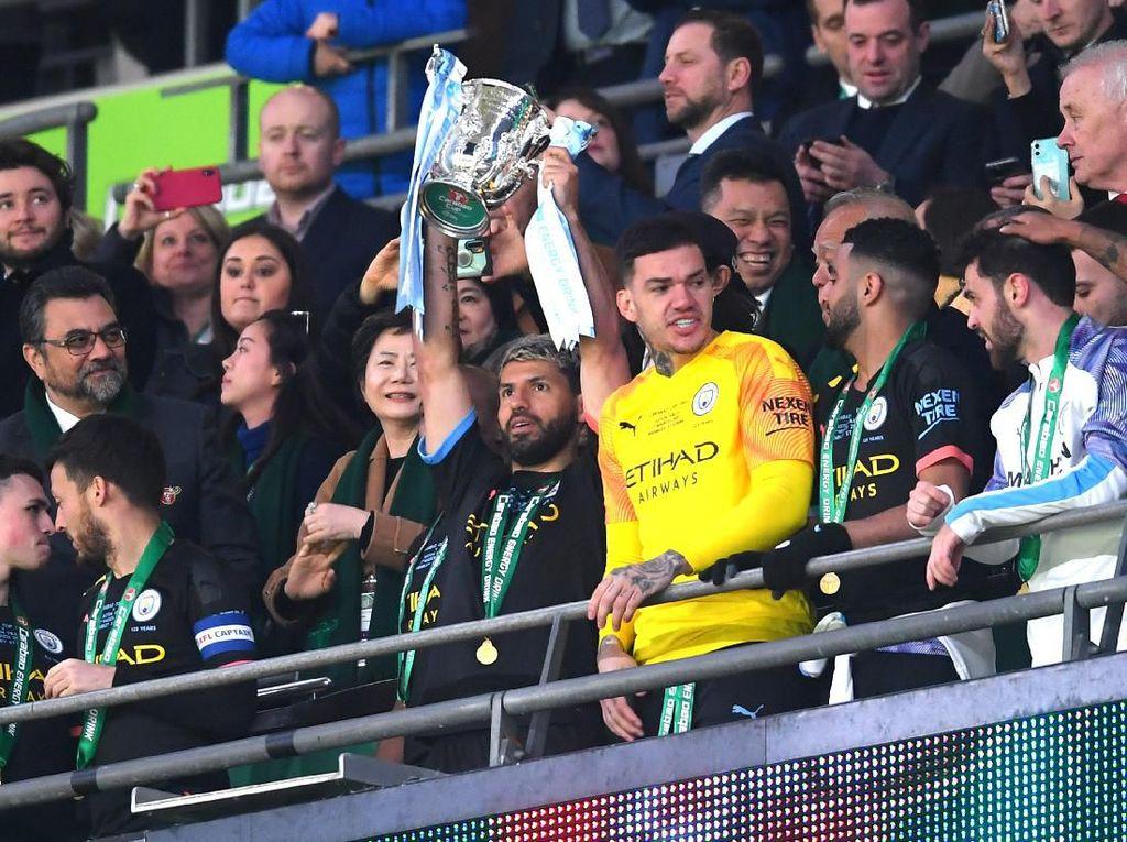 10 Fakta Usai Man City Juara Piala Liga Inggris
