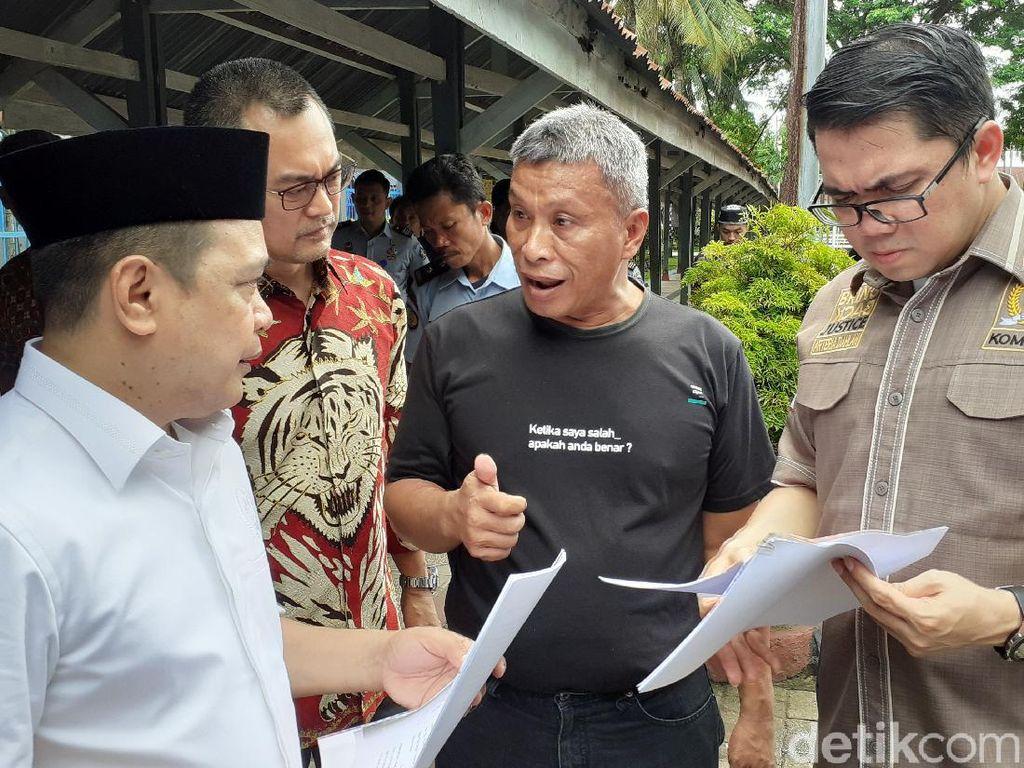 Komisi III Kunjungi Lapas Makassar, Over Kapasitas Tetap Jadi Problem Utama