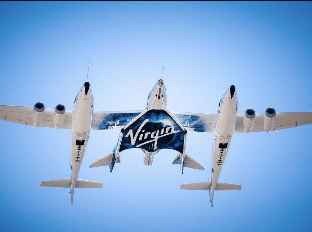 Virgin Galactic Gagal Uji Terbang Wisata Luar Angkasa