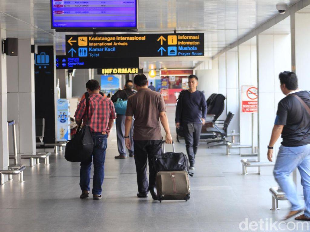 Waspada Corona, Bandara Husein Sastranegara Perketat Pengawasan Penumpang