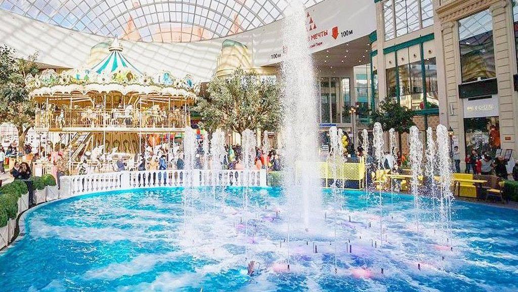 Potret Taman Rekreasi Indoor Terbesar Rusia