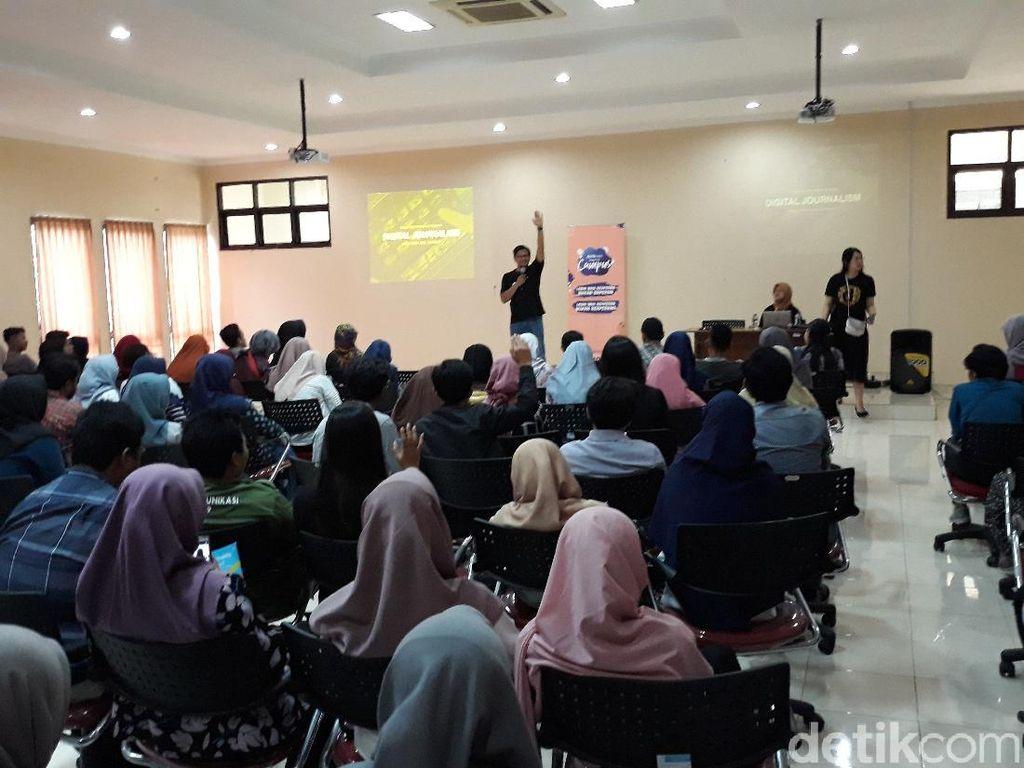 Rame Banget! Ratusan Mahasiswa UNS Ikut Workshop dYouthizen detikcom