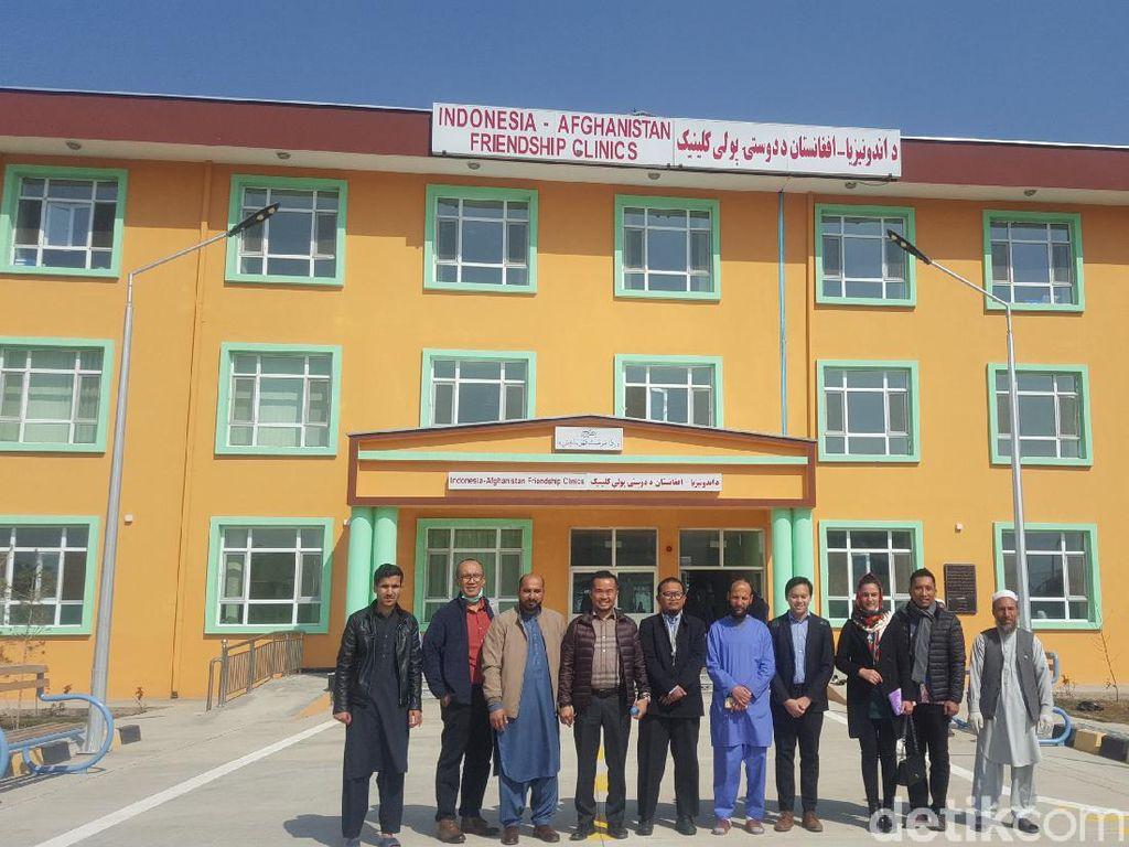 Melihat Klinik Kesehatan yang Dibangun Pemerintah Indonesia di Afghanistan