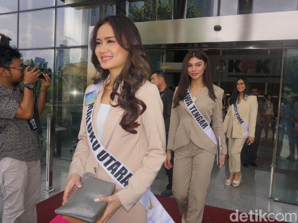 KPK Dicurhati 39 Finalis Putri Indonesia soal Korupsi Kepala Daerah-UU Baru