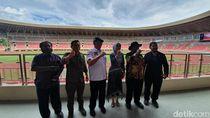 Cek Stadion Papua Bangkit, Bamsoet: Gaya Belanda-Rumput Italia