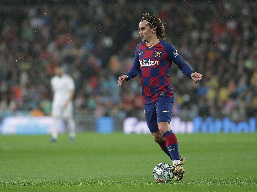 Saat Asisten Pelatih Barcelona Kesal Lihat Griezmann di El Clasico
