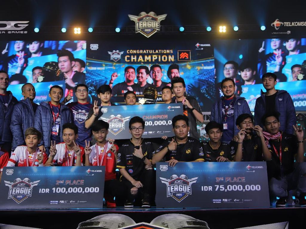 Morph dan Belletron Ace Jawari Dunia Games League 2020
