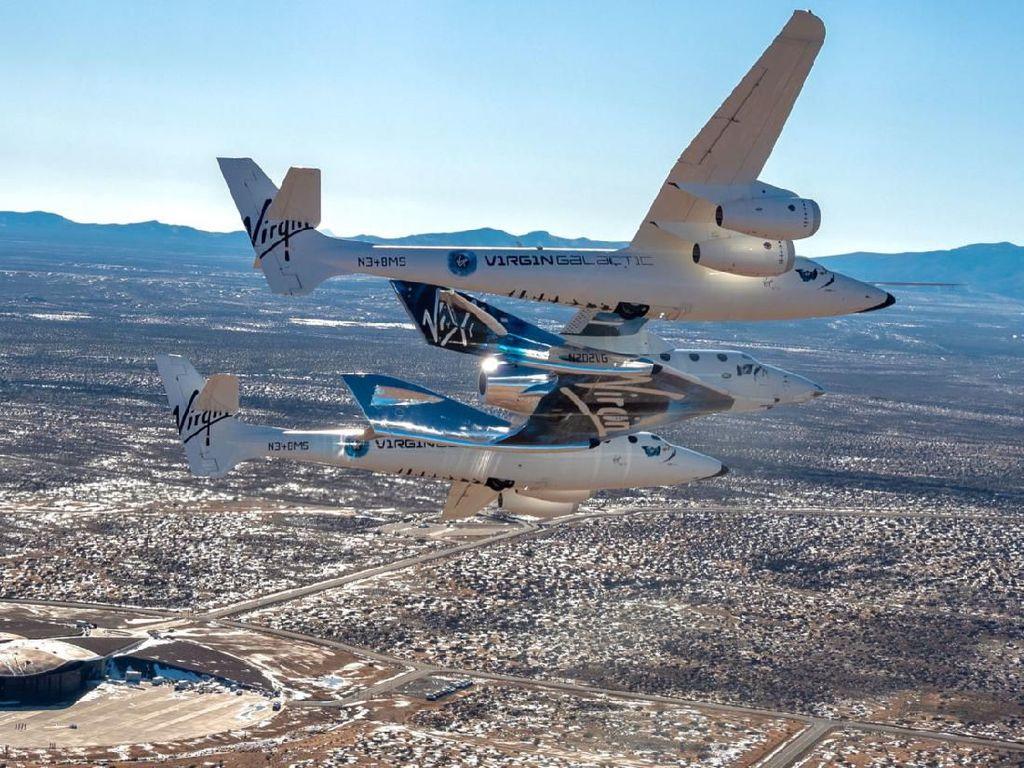 Test Flight Virgin Galactic Gagal Menembus Luar Angkasa