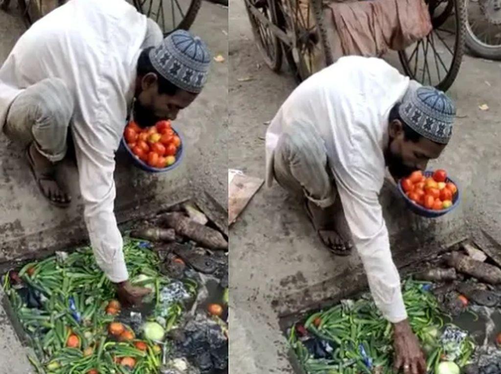 Pungut Sayuran dari Selokan, Pria Ini Diancam Akan Penjara