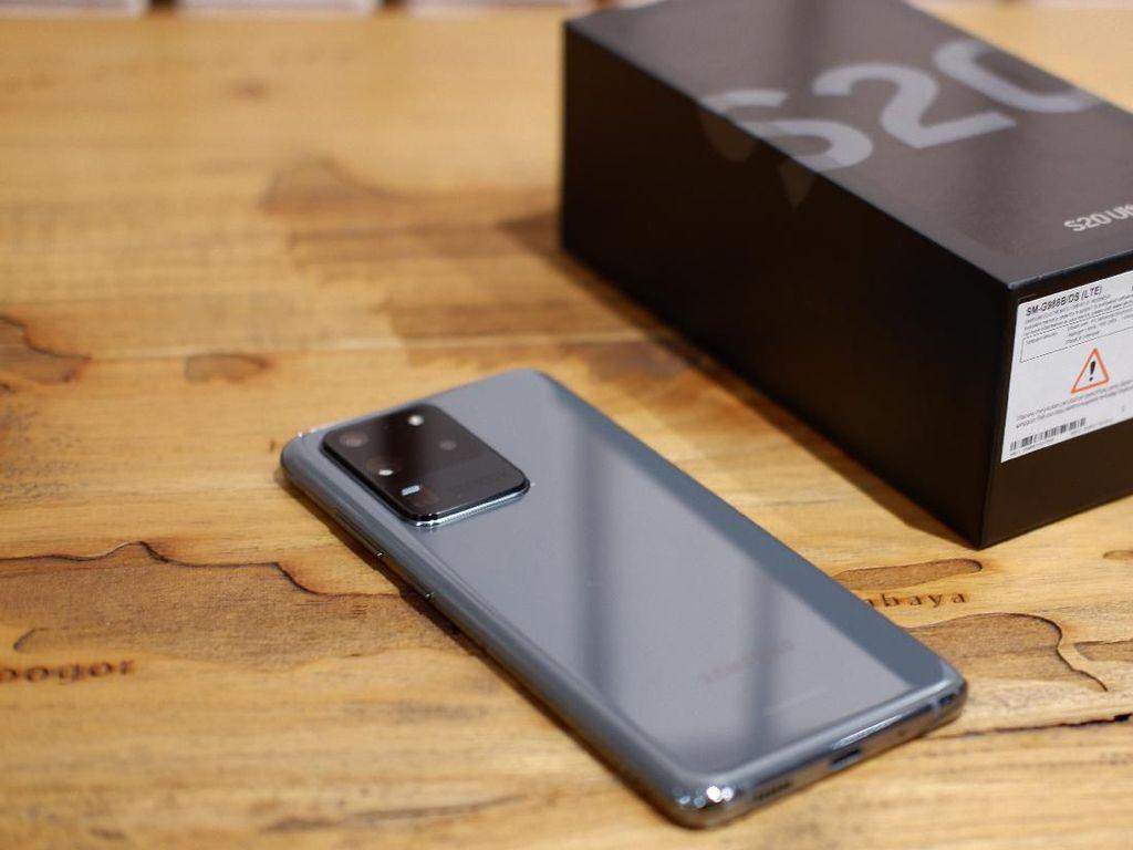 Galaxy S20 Jadi Ponsel 5G Terlaris di Dunia