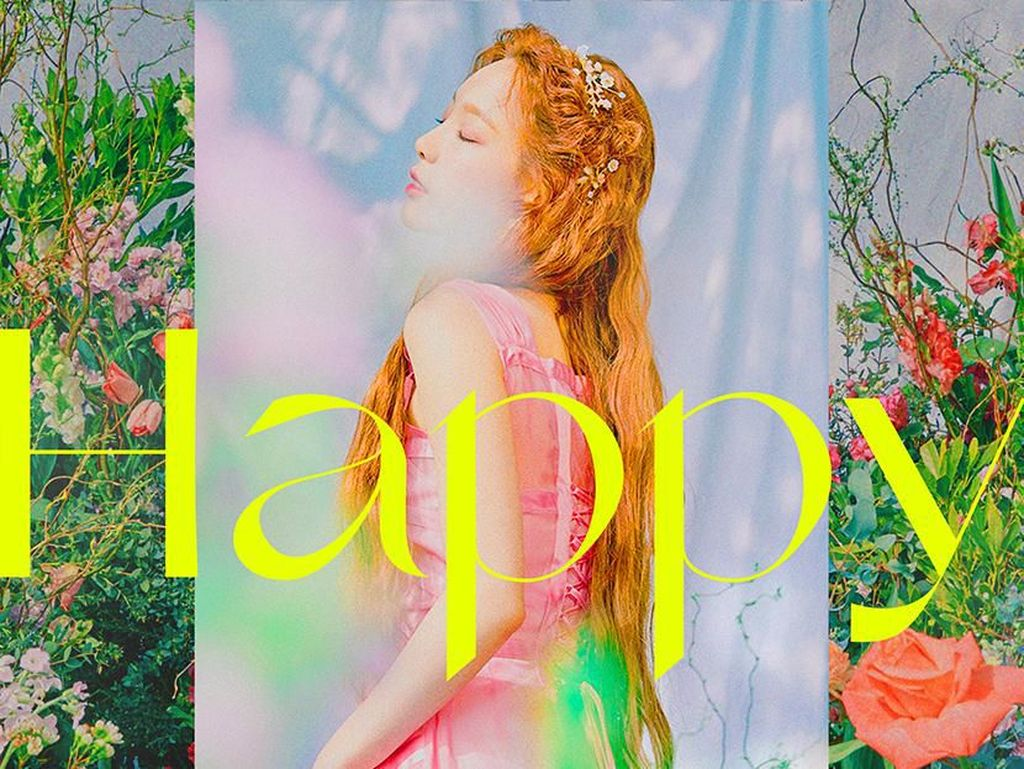 Taeyeon SNSD Umumkan Rilis Single Baru Happy