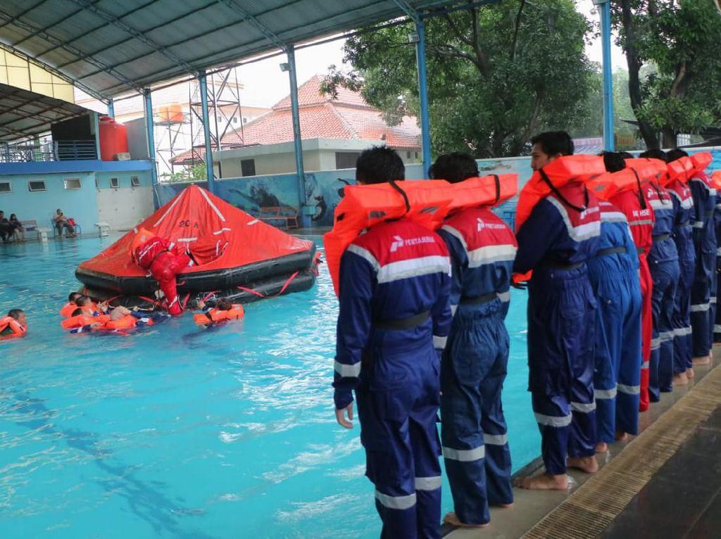 Pertamina Latih 40 Karyawan Tingkatkan Kewaspadaan di Tempat Kerja