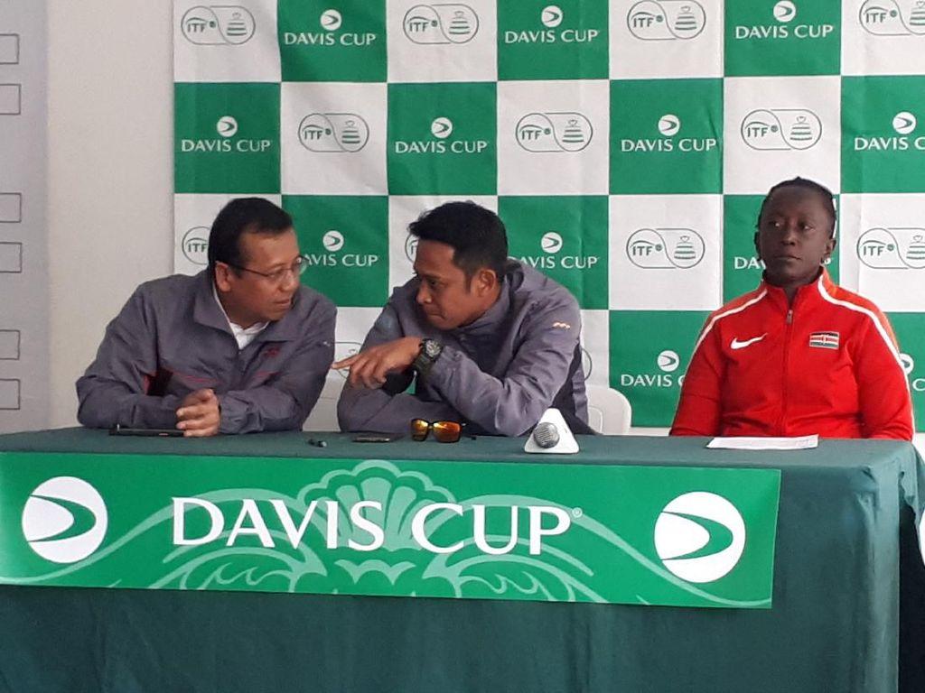 Corona Rambah Jakarta, Tim Davis Kenya Tak Cemas