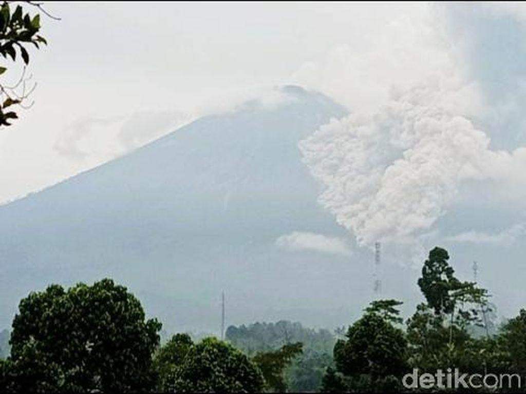 Video Gunung Semeru Luncurkan Awan Panas Setinggi 3 Km