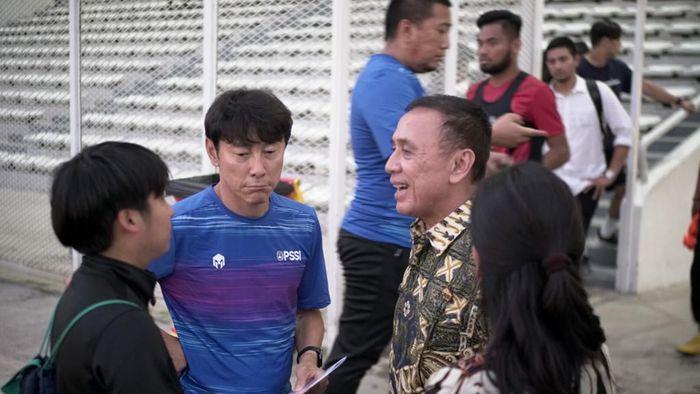 shin tae-yong mochamad iriawan pssi timnas indonesia