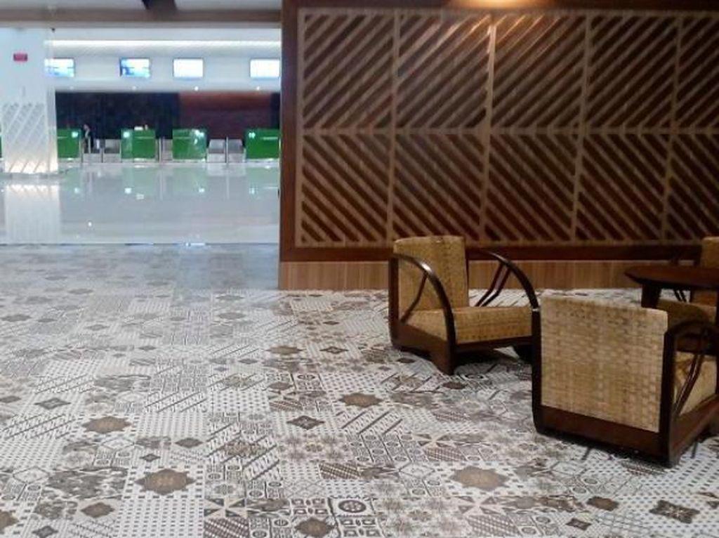 Sentuhan Budaya di Terminal Baru Bandara Solo yang Ciamik