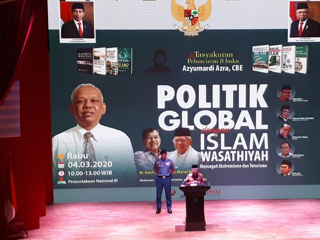 Maruf Amin Berencana Gelar Pertemuan Tokoh Lintas Agama Sedunia