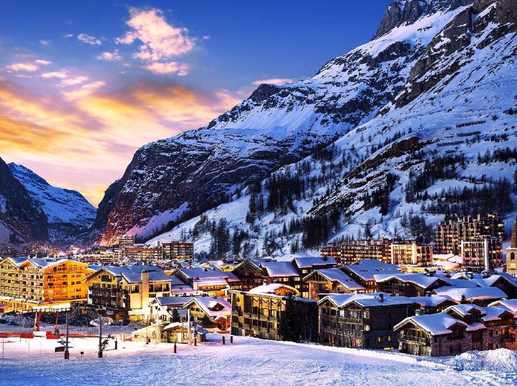 Duh, Operator Ski di Prancis Terancam Kehilangan Salju