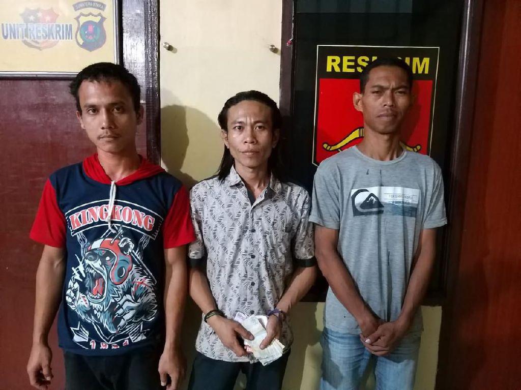 Palak Sopir Truk, 3 Preman Pasar di Tanjung Morawa Sumut Ditangkap