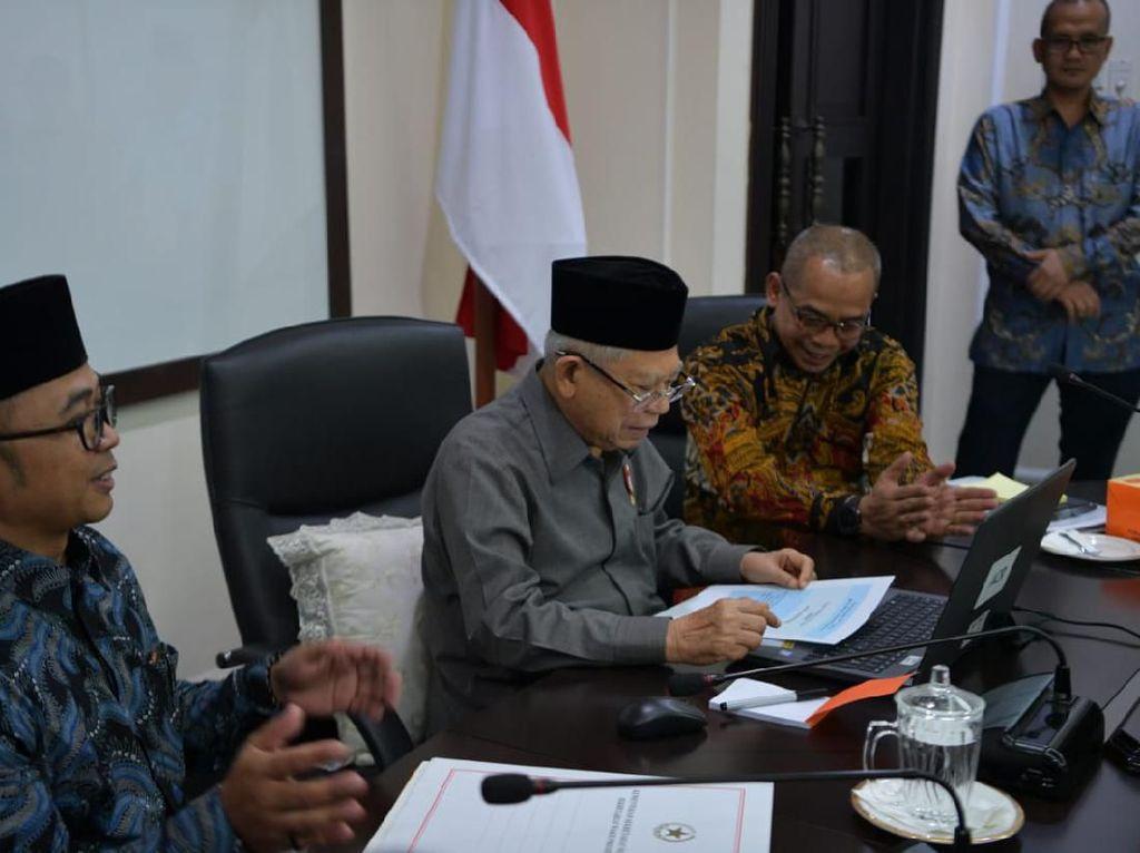 Pejabat Harus Laporkan Wajib Pajak, Maruf Amin: Untuk Kemajuan Indonesia
