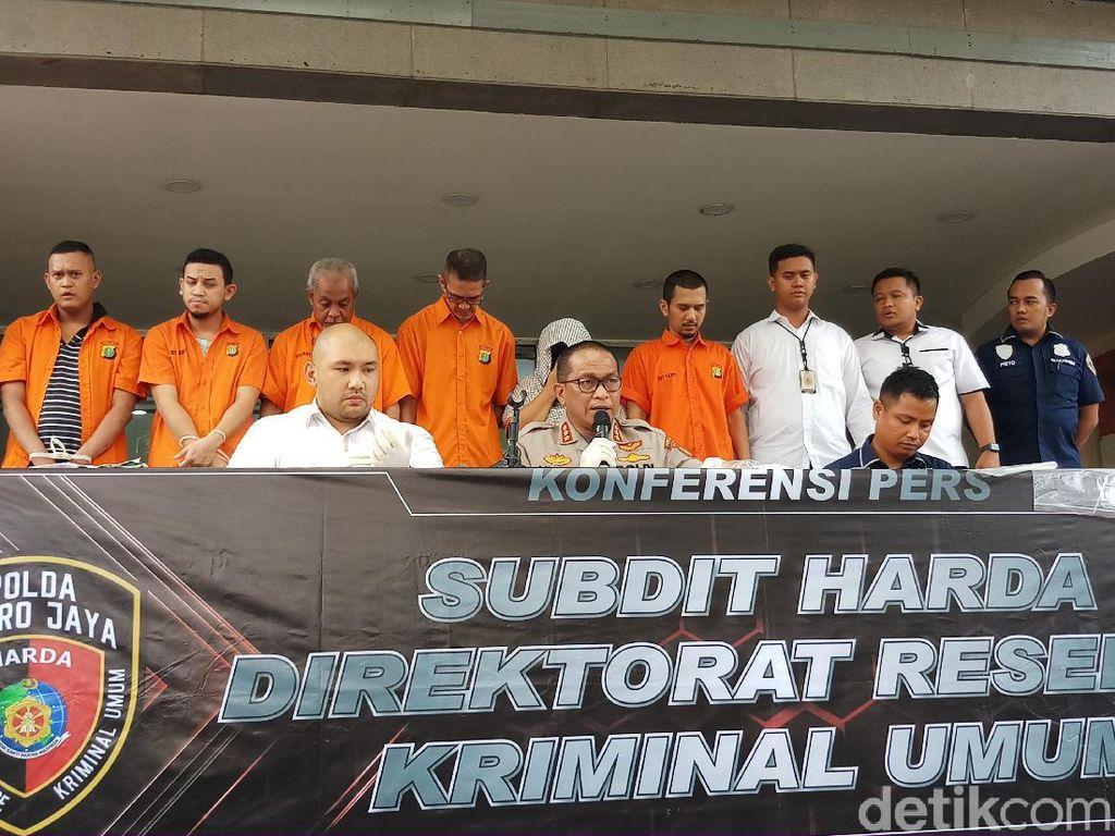 Polisi Tangkap 7 Orang Sindikat Pemalsu Sertifikat Tanah di Jakarta