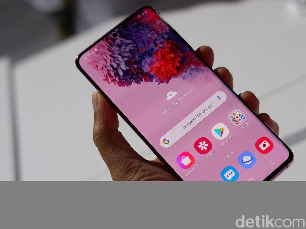 Galaxy S21 Bawa Kamera Selfie Bawah Layar, Samsung?
