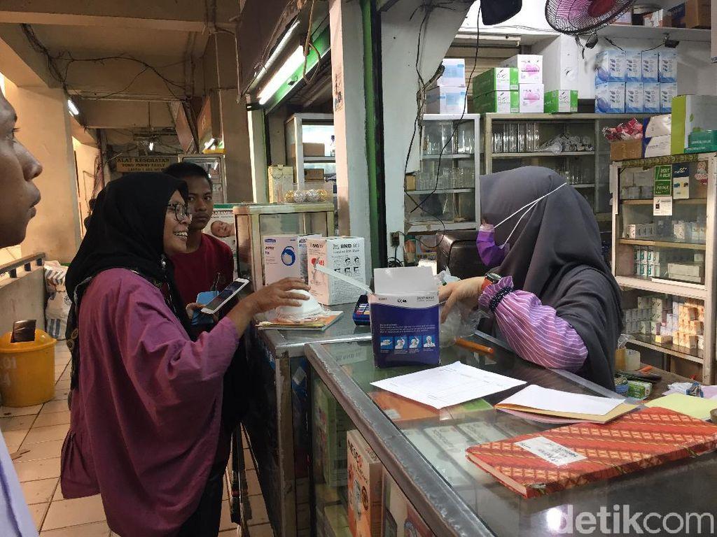 Batasi Pembelian Masker, Pasar Jaya: Maksimal 5 Boks Per Orang