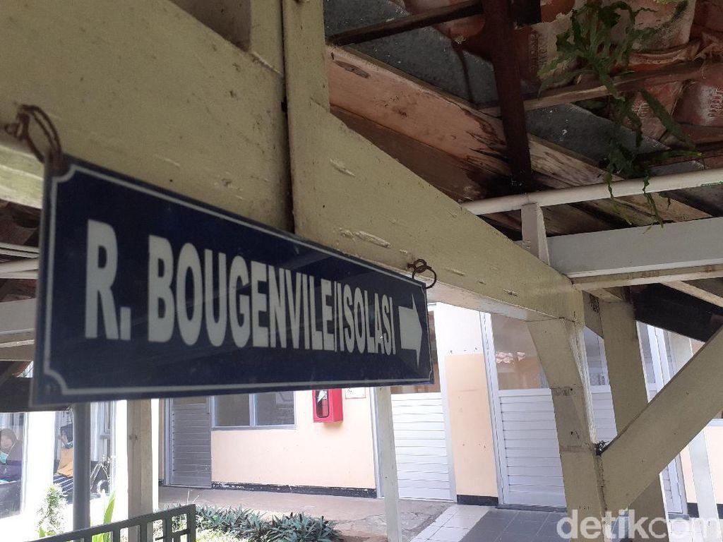 RSUP Rotinsulu Bandung Isolasi Satu Pasien Suspect Corona