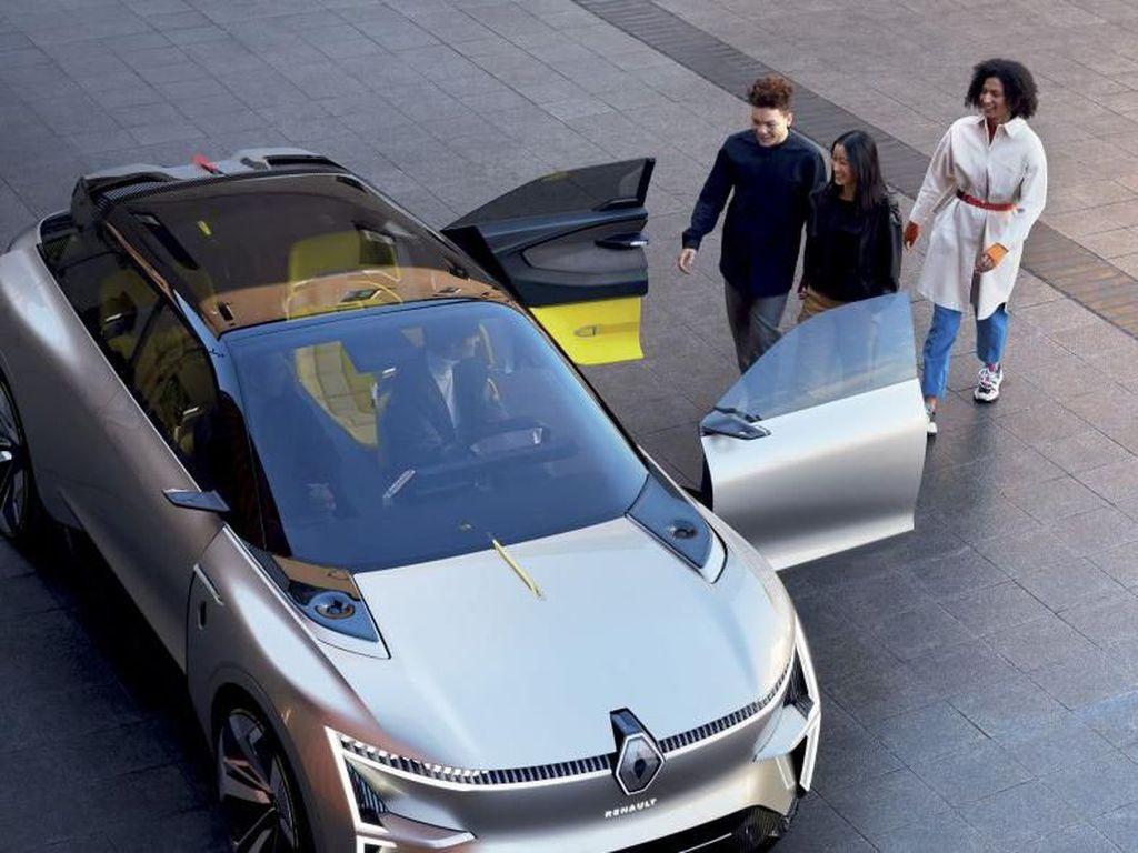 Mobil Konsep Renault Ini Bisa Berubah Bentuk Lho, Penasaran?