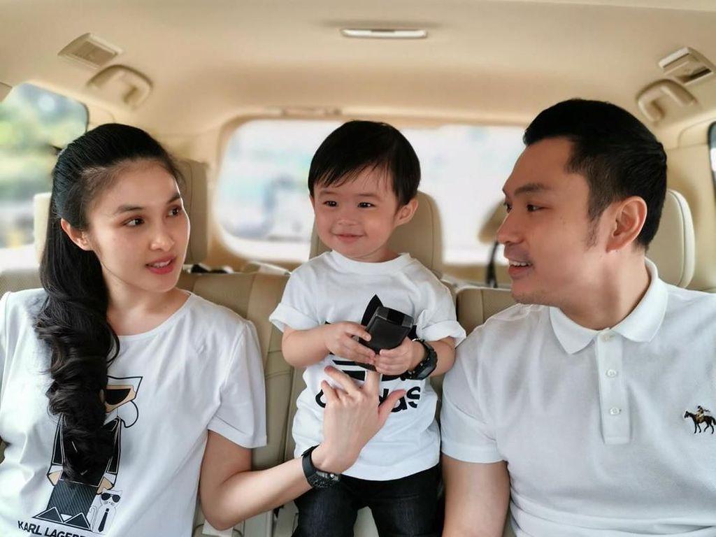 Social Distancing Buat Sandra Dewi Lebih Bahagia
