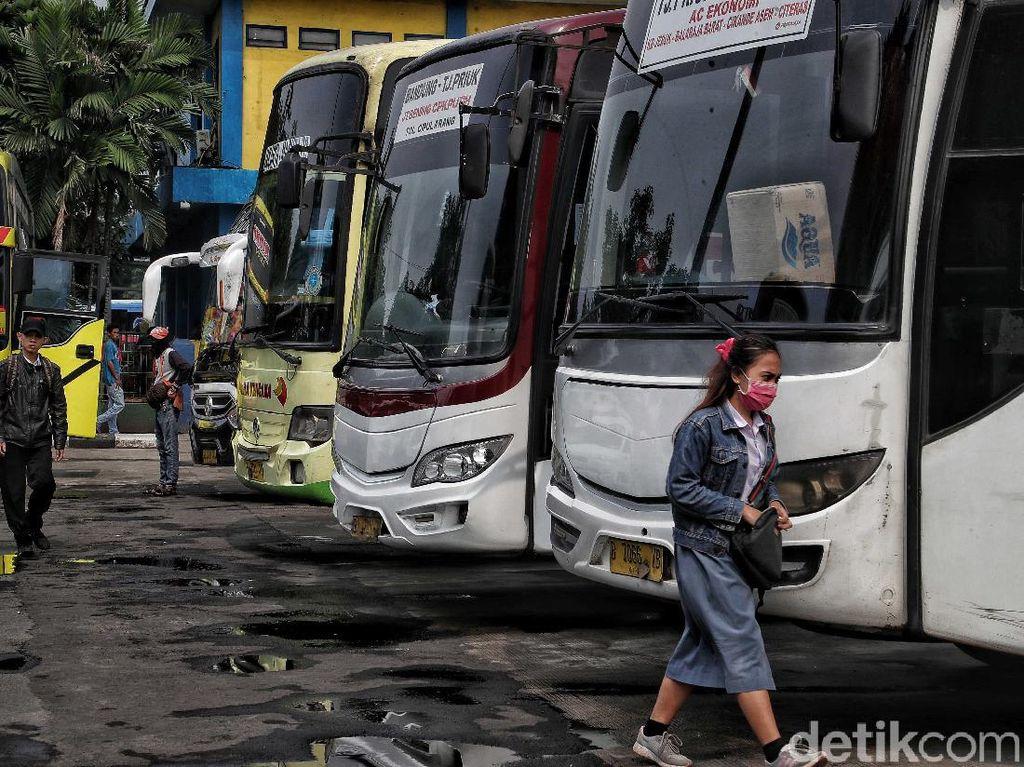 Sopir Bus Positif Corona, Pegawai Terminal Juga Rawan Terpapar