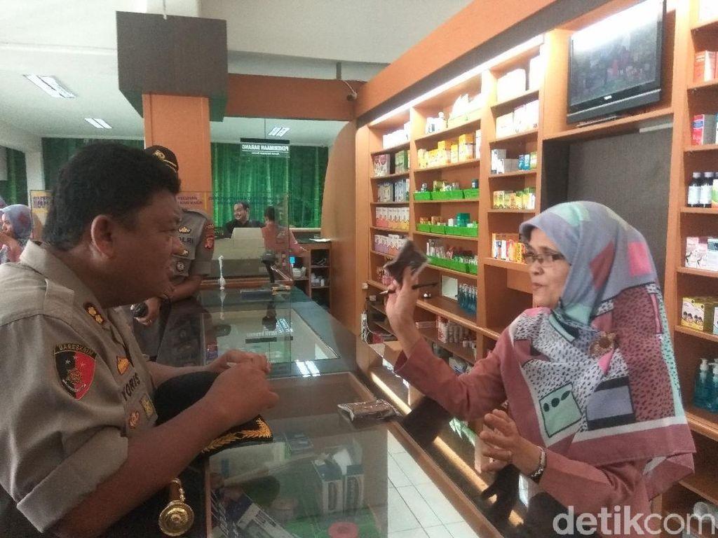 Cegah Penimbunan Masker, Polisi Sidak Apotek dan Distributor di Cimahi