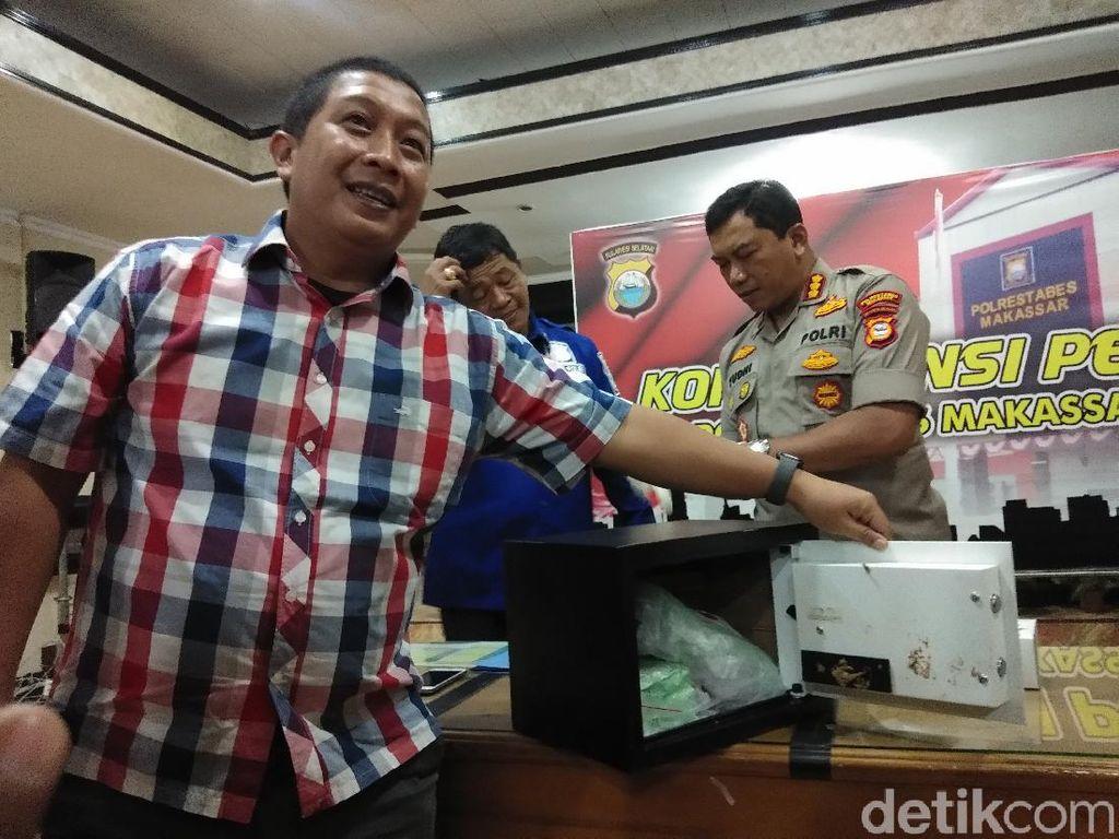 Bawa 1,8 Kg Sabu, 3 Kurir Sindikat Internasional Ditangkap di Makassar