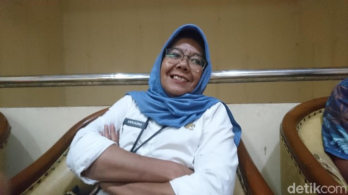 Kepala Dinas Kesehatan Cilegon, Arriadna (M Iqbal/detikcom)