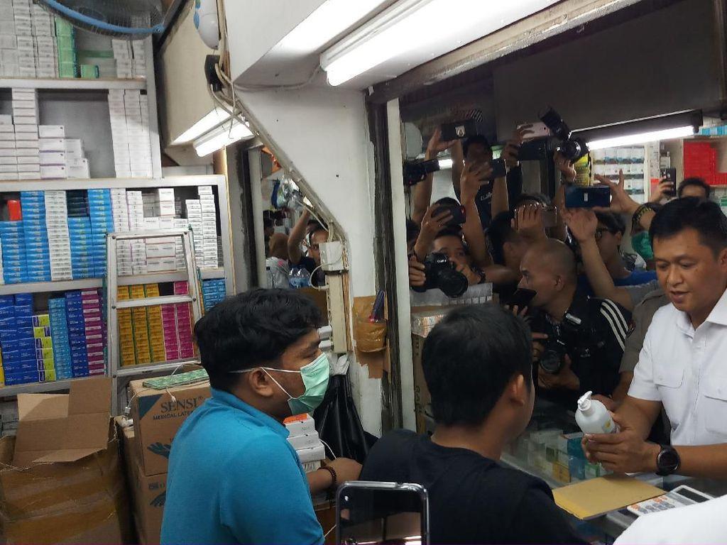 Sidak ke Pasar Pramuka, Polisi Cek Harga dan Ketersediaan Masker