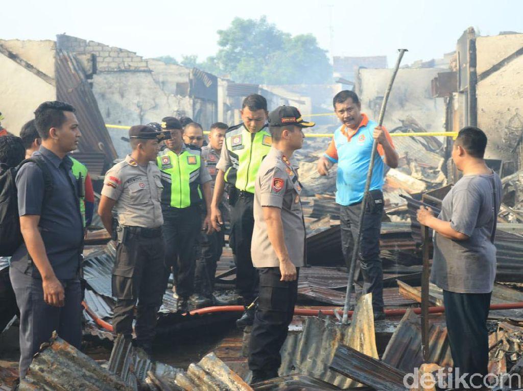 Tim Labfor Akan Selidiki Penyebab Terbakarnya Pasar Baru Tuban