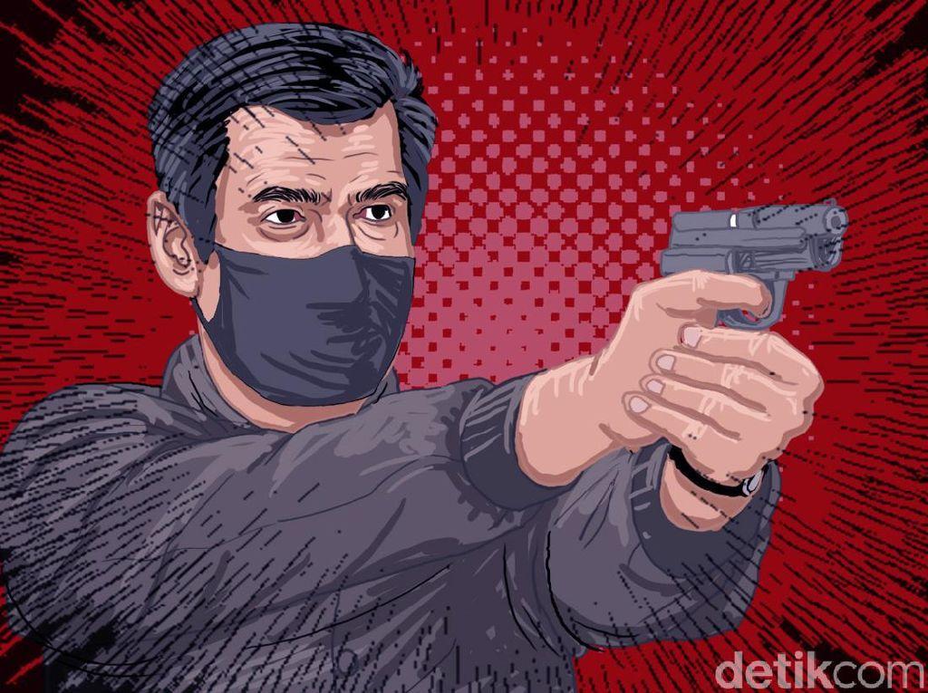 20 Saksi Diperiksa, Penembak Pria Saat Balap Liar di Medan Masih Misterius
