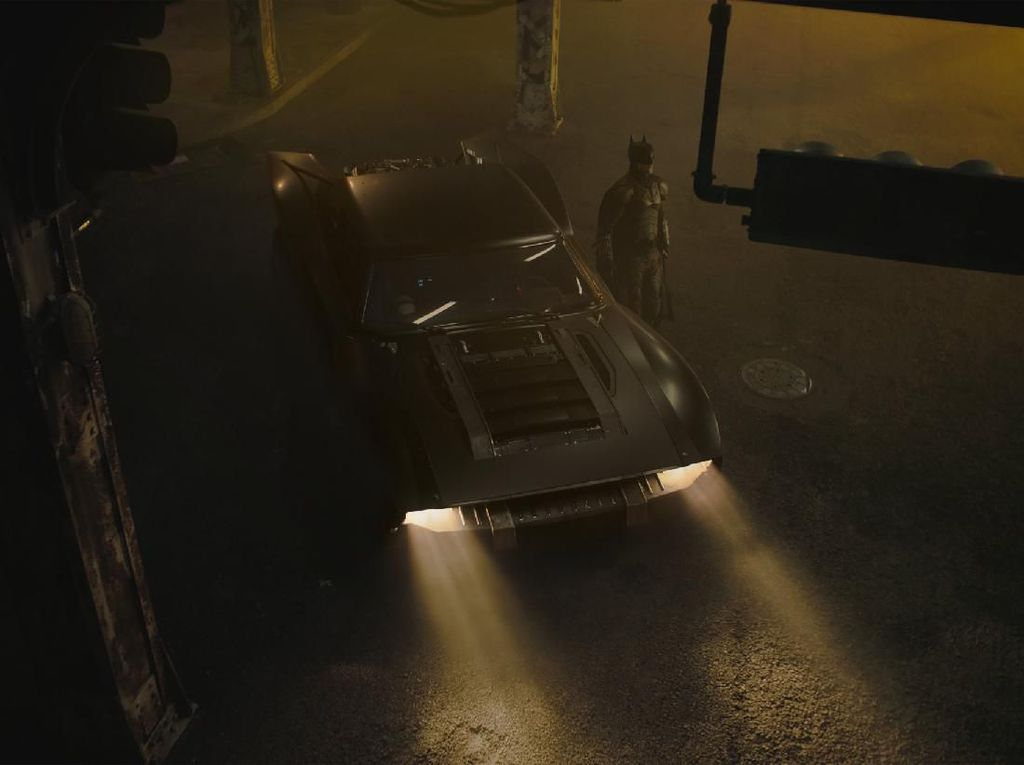 Mobil Baru Batman Lebih Berotot